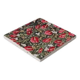Dessous-de-plat disposition florale extraordinaire de Noël