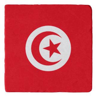Dessous-de-plat Drapeau de la Tunisie