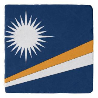 Dessous-de-plat Drapeau des Marshall Islands