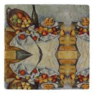 Dessous-de-plat Le panier des pommes par Paul Cezanne