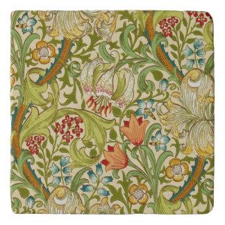 Dessous-de-plat Pre-Raphaelite d'or de cru de lis de William