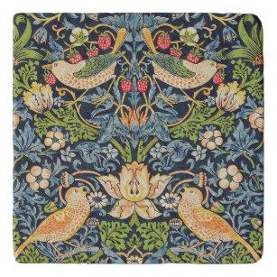 Dessous-de-plat Schéma floral William Morris Strawberry Thief