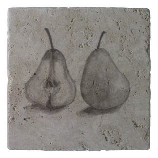 Dessous-de-plat Trépied de poire