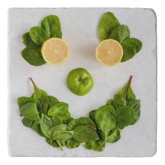 Dessous-de-plat Trépied de smiley de citron