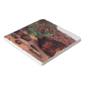 Dessous-de-plat Trépied en pierre d'Australien à l'intérieur