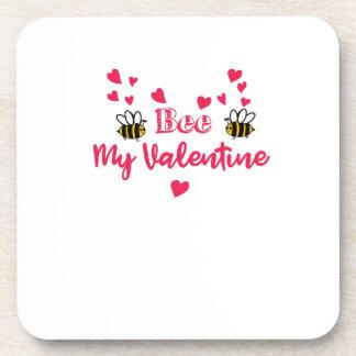 Dessous-de-verre Abeille mes couples de Valentine - jour de