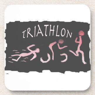 Dessous-de-verre Abrégé sur course de vélo de bain de triathlon