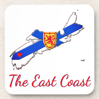Dessous-de-verre Aimez l'ensemble de la Nouvelle-Écosse   de Côte