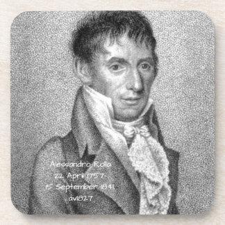 Dessous-de-verre Alessandro Rolla avant 1827