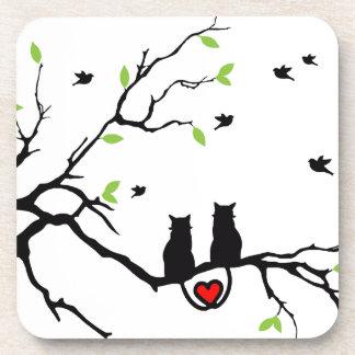 Dessous-de-verre Amour de chat