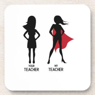 Dessous-de-verre Amour drôle de SuperTeacher mon professeur