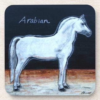 Dessous de verre Arabes de cheval, cadeaux pour Dessous-de-verre