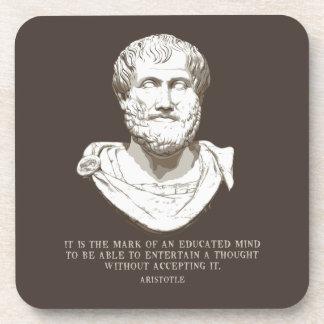 Dessous-de-verre Aristote a instruit l'esprit