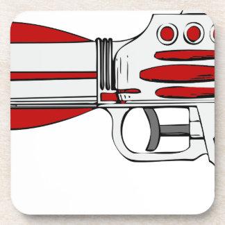 Dessous-de-verre Arme à feu futuriste de l'espace