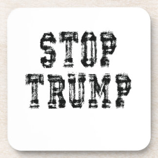 Dessous-de-verre Arrêtez l'atout non mon Président Trump