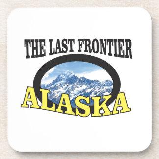 Dessous-de-verre art de logo de l'Alaska
