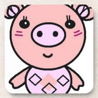 Dessous-de-verre art rose de porc
