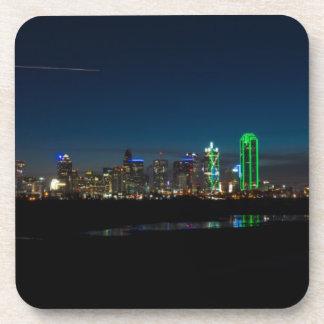 Dessous-de-verre Aube Pano d'horizon de Dallas