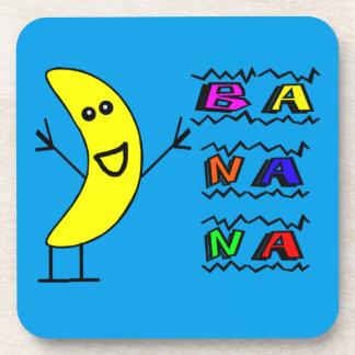Dessous-de-verre Banane heureuse