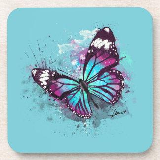 Dessous-de-verre Belle illustration de papillon