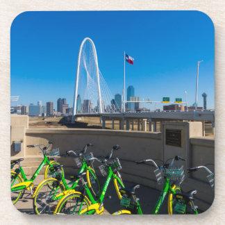 Dessous-de-verre Bicyclettes et Dallas