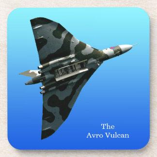 Dessous-de-verre Bombardier d'aile delta d'Avro Vulcan sur le