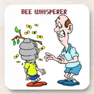 Dessous-de-verre Bourdon de Whisperer d'abeille d'amants d'abeilles