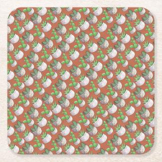 Dessous-de-verre Carré En Papier cactus