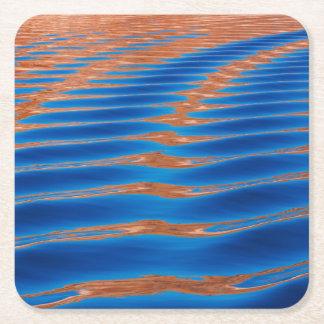 Dessous-de-verre Carré En Papier Canyon de gorge de Powell | de lac, UT