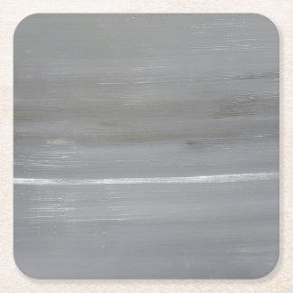 Dessous-de-verre Carré En Papier Ciel gris