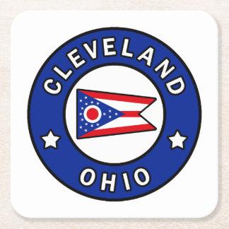 Dessous-de-verre Carré En Papier Cleveland Ohio