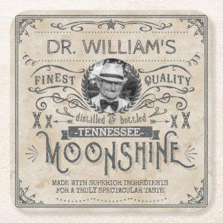 Dessous-de-verre Carré En Papier Coutume vintage drôle de médecine de montagnard