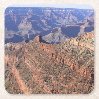 Dessous-de-verre Carré En Papier Dessous de verre de boissons de canyon grand
