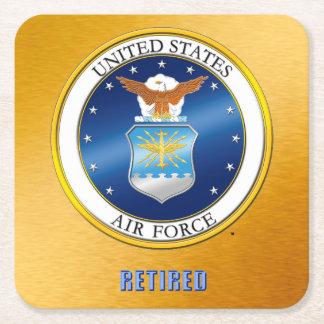 Dessous-de-verre Carré En Papier Dessous de verre retirés parU.S. Air Force