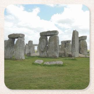 Dessous-de-verre Carré En Papier Ensemble de dessous de verre de Stonehenge