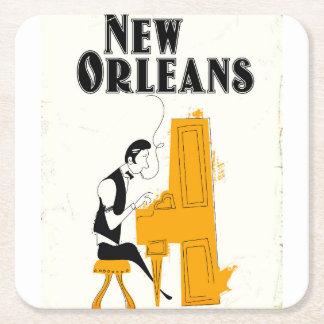 Dessous-de-verre Carré En Papier Honky Tonk de la Nouvelle-Orléans