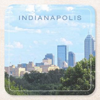 Dessous-de-verre Carré En Papier Horizon d'Indianapolis