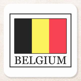 Dessous-de-verre Carré En Papier La Belgique
