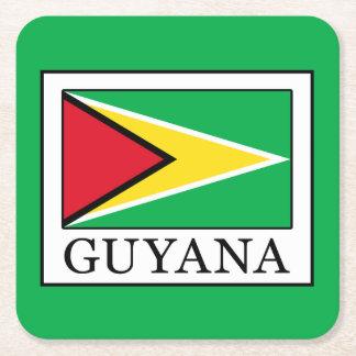 Dessous-de-verre Carré En Papier La Guyane