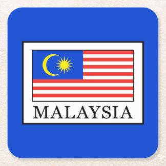Dessous-de-verre Carré En Papier La Malaisie