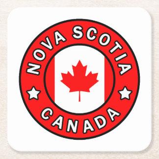 Dessous-de-verre Carré En Papier La Nouvelle-Écosse Canada