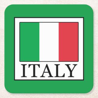 Dessous-de-verre Carré En Papier L'Italie