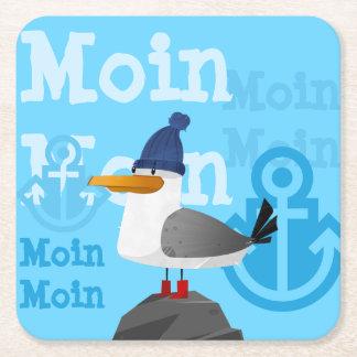 """Dessous-de-verre Carré En Papier Mouette de """"Moin Moin"""""""