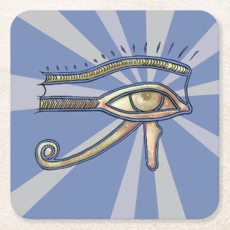 Dessous-de-verre Carré En Papier Oeil de caboteur de Horus