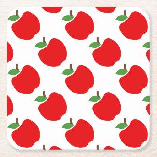 Dessous-de-verre Carré En Papier Pommes