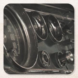 Dessous-de-verre Carré En Papier Vieux dessous de verre de papier de tableau de