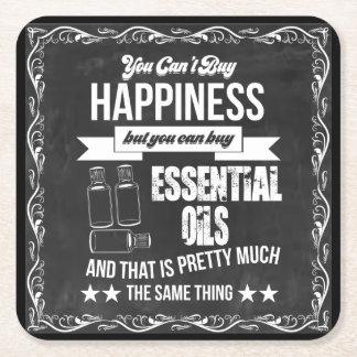 Dessous-de-verre Carré En Papier Vous ne pouvez pas acheter le bonheur mais vous
