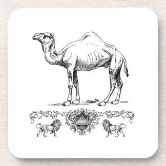 Dessous-de-verre chameau de fantaisie de lion