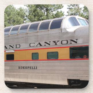 Dessous-de-verre Chariot ferroviaire de canyon grand, Arizona