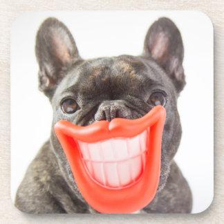 Dessous-de-verre Chien de sourire des images | A de Getty